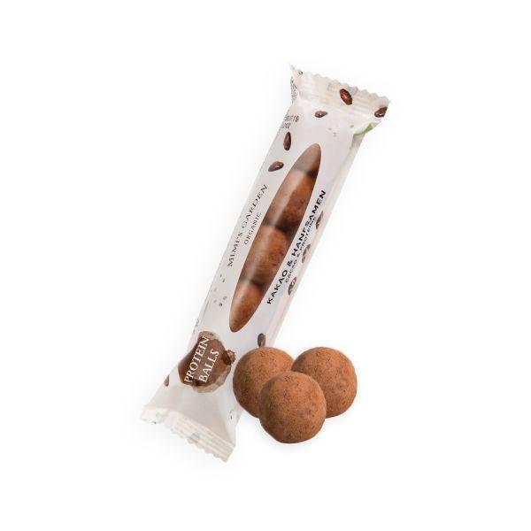 Bio Fruchtkonfekt Kakao & Hanfsamen