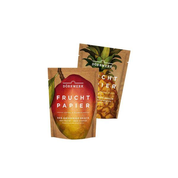 Fruchtpapier Exotik Box - 8 Stück