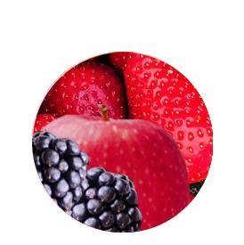 Fruchtpapier-Beerenmix-Box
