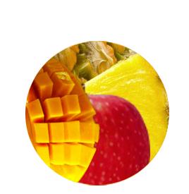 Fruchtpapier-Exotik-Box